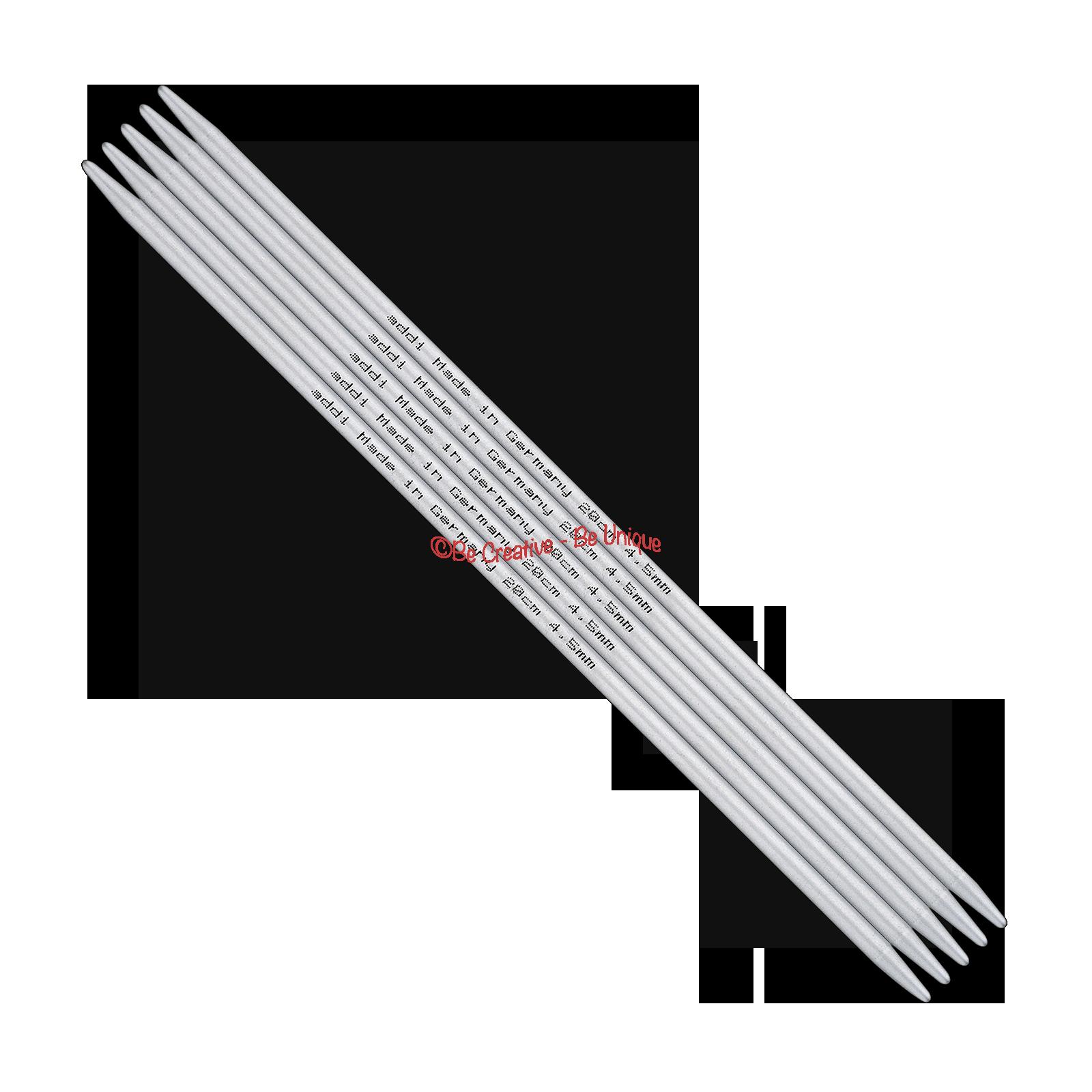 addi - Double Pointed Needles, Aluminium - Ø 2,0-8,0 mm | 10-40 cm