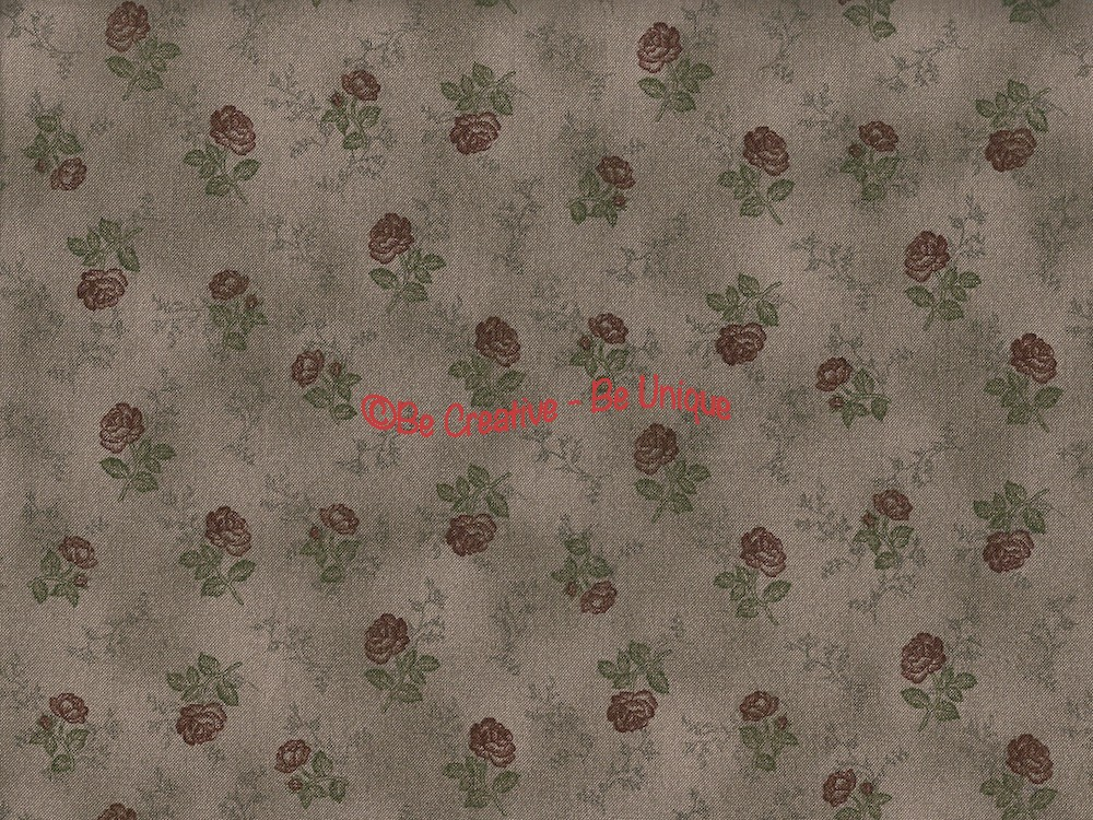 Fat Quarter - Cotton by Stof - Roses