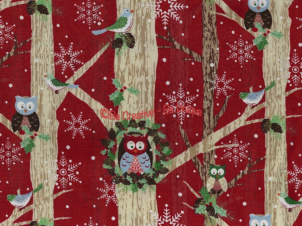 Cotton by Blank Quilting - Owls