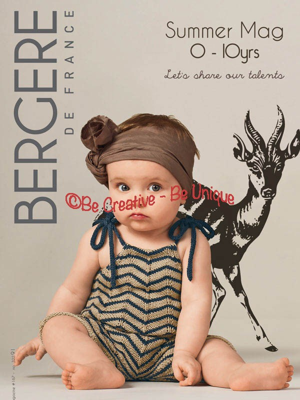 Bergere de France - Mag 167 - Summer Kids Collection