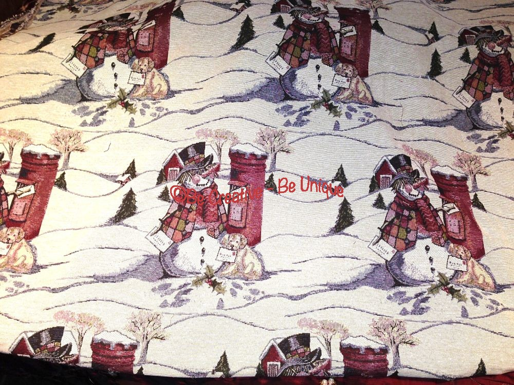 Tapestry - Snowman