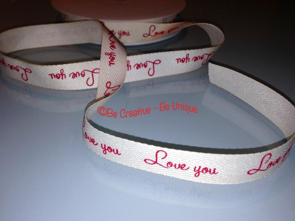 Love you - Ribbon