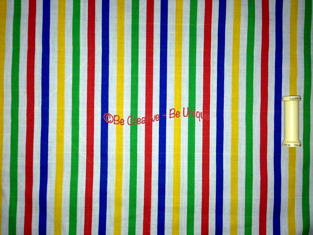 Polycotton - Stripes