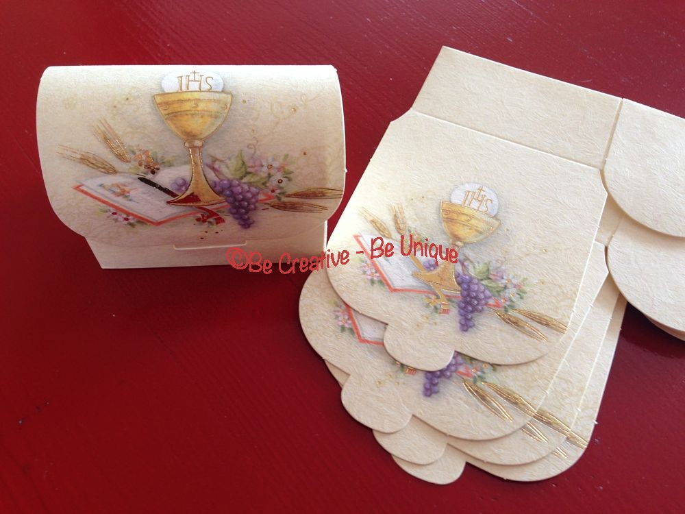 Communion Chest Gift Box