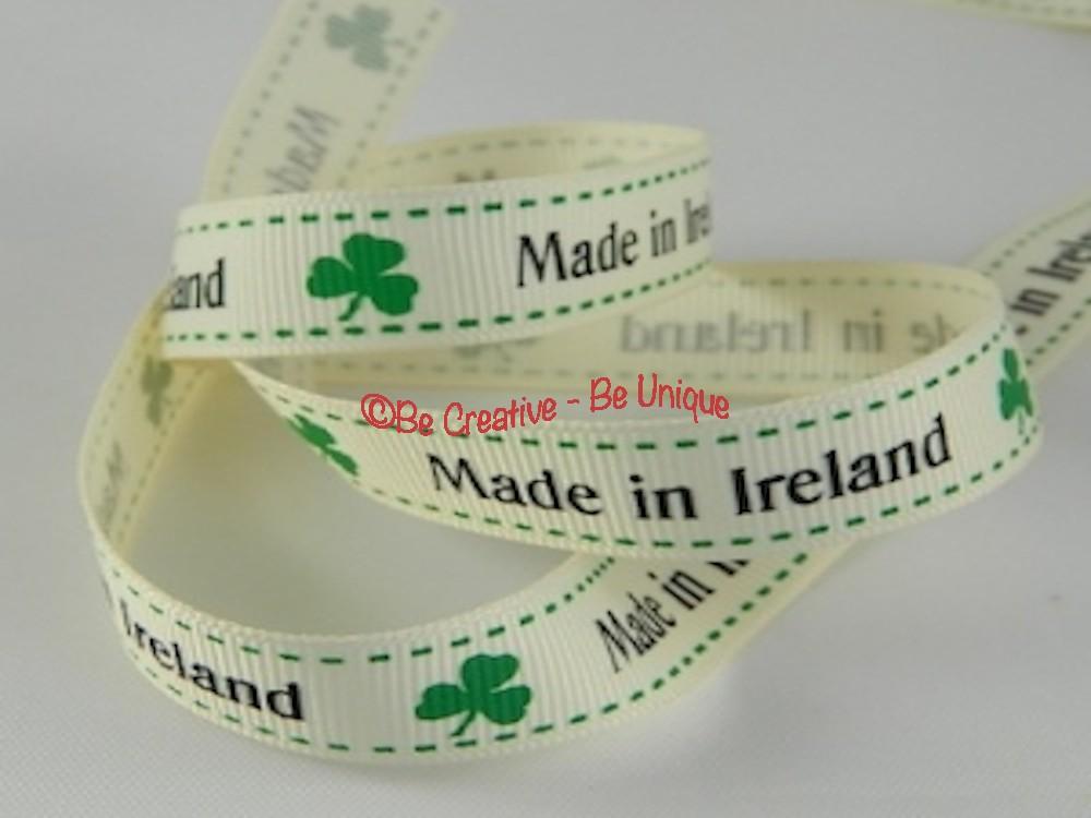 Made in Ireland - Ribbon