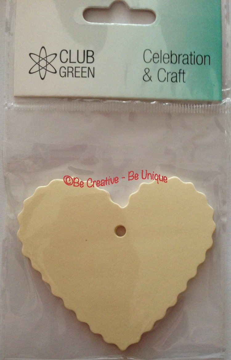 10 Hearts Gift Tags - Ivory