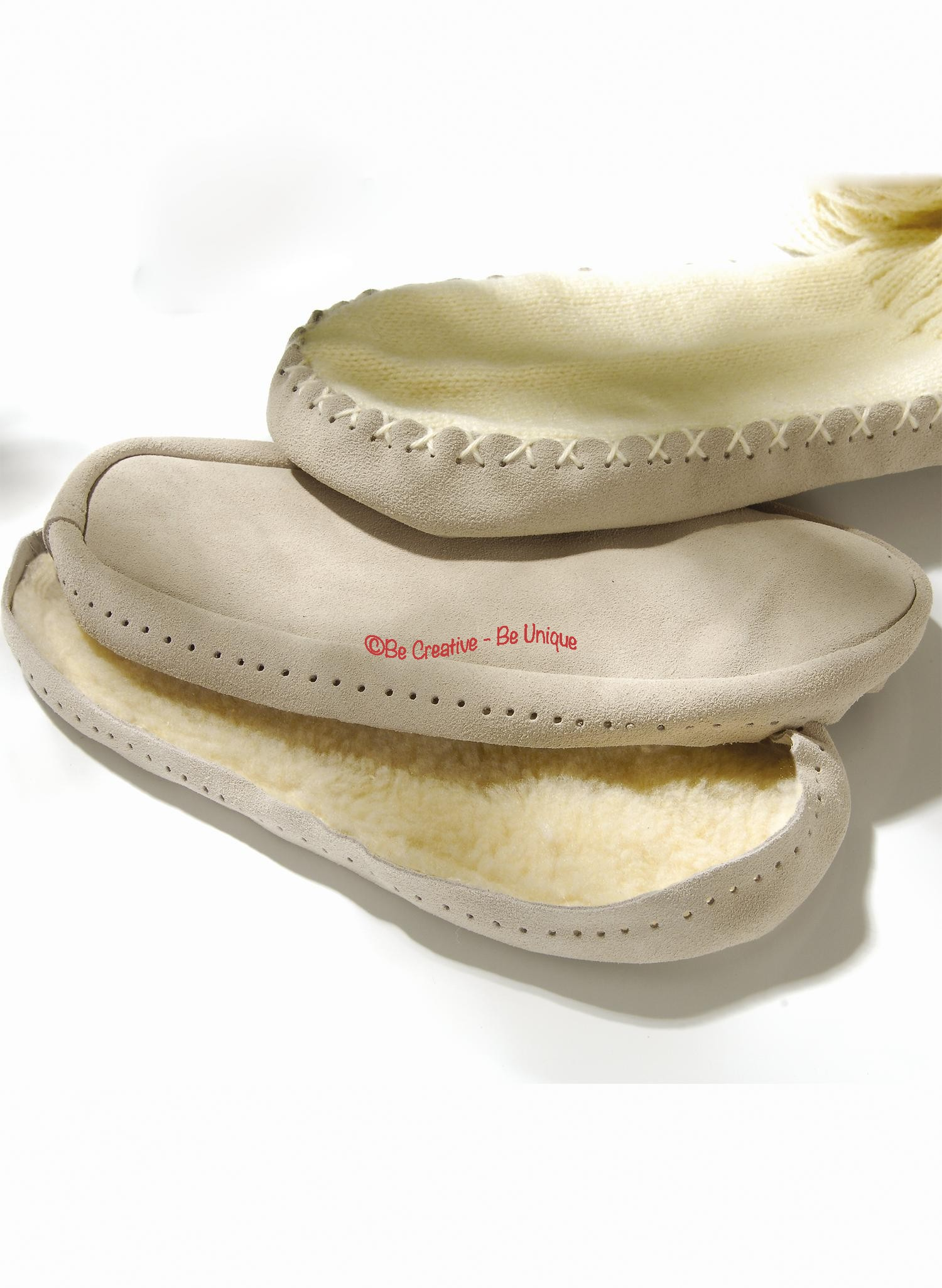 Bergere de France - Sew-on soles - 6-7 UK