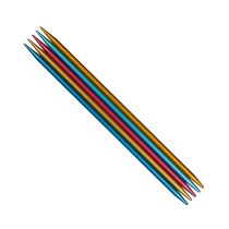 addiColibri Double Pointed Needles, Aluminium - Ø 2,0-8,0 mm | 15-23 cm