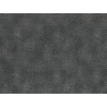 Fat Quarter - Cotton by Hoffman - Silver Metallic Dots on Charcoal