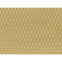 Cotton by Hoffman Fabrics - Gold Metallic Diamond Geo