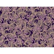 Cotton by Hoffman - Ornate Scroll Designs