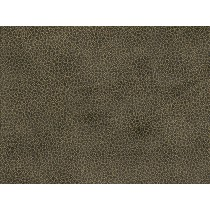 Fat Quarter - Cotton by Stof - Gold Dots on Dark Taupe