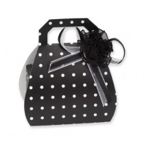 Black Spotted Handbag Gift Box
