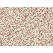 Cotton by Stof - Small Roses - Ivory