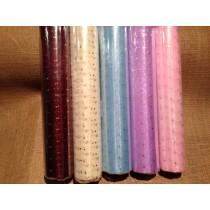 Glitter Dot Organza on a Roll - 29cm x 1m