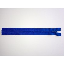 Nylon Zip Fastener - Royal Blue - 8""