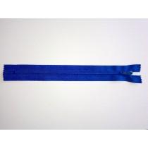 "Nylon Zip Fastener - Royal Blue - 8"""