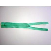 "Nylon Zip Fastener - Mint - 8"""