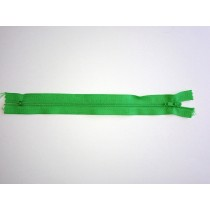 Nylon Zip Fastener - Light Green - 8""