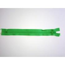 """Nylon Zip Fastener - Light Green - 8"""""""