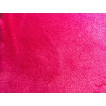 Minky Cuddle Double Sided Supersoft Fleece - Cerise