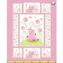 Cotton by Susybee - Flip, the Pig Panel