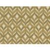 Fat Quarter - Cotton by Hoffman Fabrics - Gold Metallic Diamond Geo