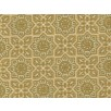 Fat Quarter - Cotton by Hoffman Fabrics - Gold Metallic Arabesque