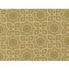 Fat Quarter - Cotton by Hoffman Fabrics - Gold Metallic Arabesque