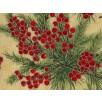 Fat Quarter - Cotton by Hoffman - Winter Berries