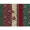 Fat Quarter - Cotton by Hoffman - Metallic Border Stripe