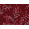 Fat Quarter - Cotton by Hoffman - Red Mistletoe