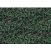 Cotton by Hoffman - Silver Metallic Holly
