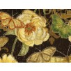 Fat Quarter - Cotton by Hoffman - Flowers and Butterflies