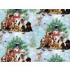 Cotton by SPX Fabrics - Puppies Christmas Scenes