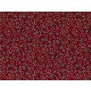 Fat Quarter - Cotton by Stof - Flowers and Twirls - Red