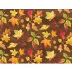Fat Quarter - Cotton by Northcott - Autumn Leaves