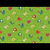 Fat Quarter - Cotton by Stof - Birds - Green