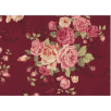 Cotton by Stof - Large Roses - Rosie's Garden - Wine
