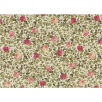Fat Quarter - Cotton by Stof - Leaves & Roses - Ivory