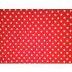 Cotton Poplin - Polka Dot - Red/White