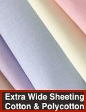 Sheeting - Cotton & Polycotton